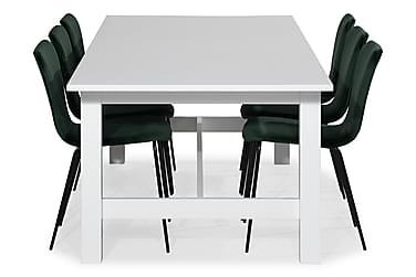 Ruokailuryhmä Isadora Jatkettava 240 cm 8 Miko tuolilla Sam