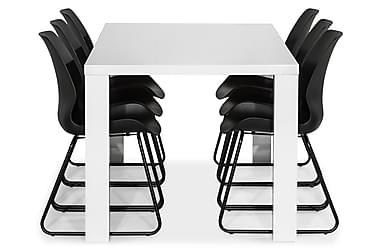 Ruokailuryhmä Jack 180 cm 6 Taiki tuolilla