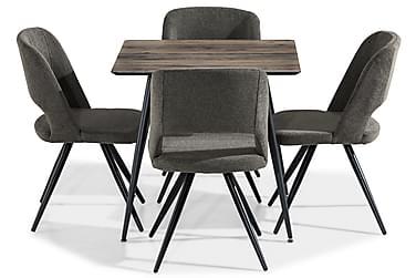 Ruokailuryhmä Jaunita 80 cm 4 Despain tuolia