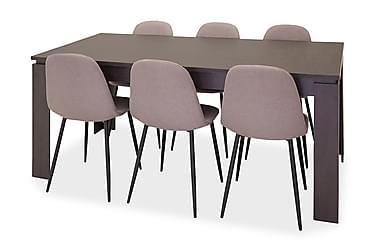 Ruokailuryhmä Kierra 6 Tommy tuolilla