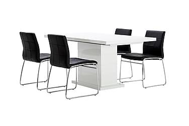 Ruokailuryhmä Kulmbach 4 Mucura tuolilla