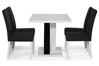 Ruokailuryhmä Mendoza 140 cm 4 Leo tuolia