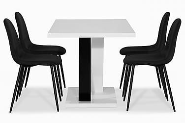 Ruokailuryhmä Mendoza 140 cm 4 Naira tuolia
