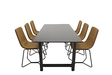 Ruokailuryhmä Noomi 6 Theresa tuolia