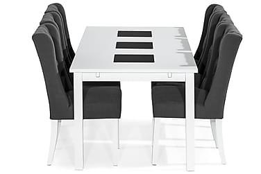 Ruokailuryhmä Octavia 180 cm + 6 Isolde tuolia