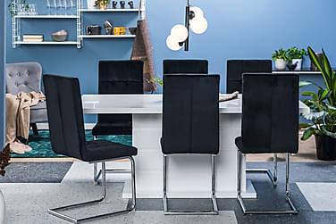 Ruokailuryhmä Ratliff 180 cm 6 tuolilla