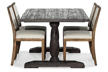 Ruokailuryhmä Suzon 160 cm + 4 Frendy tuolia