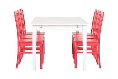 Ruokailuryhmä Svensbo 180 cm 6 Taya tuolilla