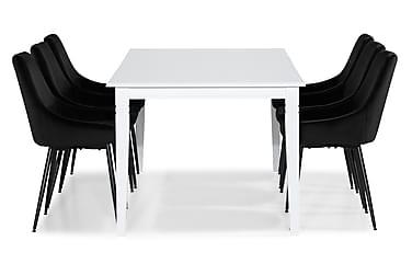 Ruokailuryhmä Twain Jatkettava 180 cm 6 Bergviken tuolilla