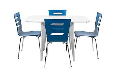 Ruokailuryhmä Valeria 4 Doka tuolilla
