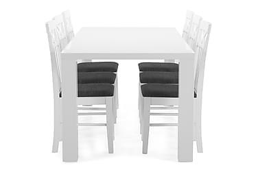 Ruokapöytä Jack + 6 Magdalena tuolia