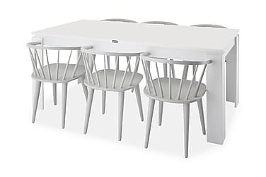 Ruokapöytä Milano + 6 Sturla tuolia