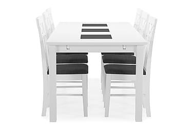 Ruokapöytä Octavia + 6 Magdalena tuolia