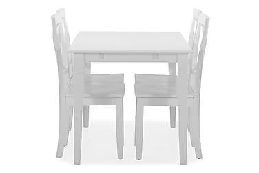 Ruokapöytä Twain 4 kpl Nadica tuolia