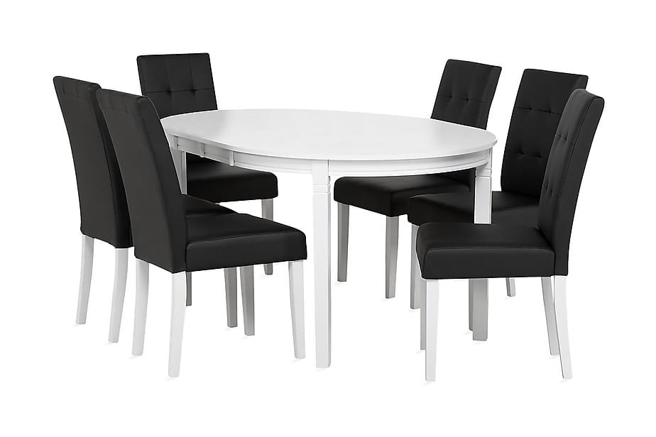 Ruokailuryhmä Läckö 6 Viktor tuolilla