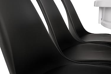 Ruokailuryhmä Lowisa 6 Shape tuolilla