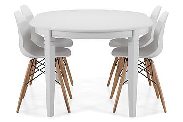 Ruokapöytä Lowisa 4 Laurent tuolia