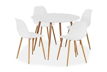 Ruokailuryhmä Scandinavia 4 tuolilla