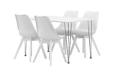 KRONBERG Pöytä 120 + 4 PEACE Valk