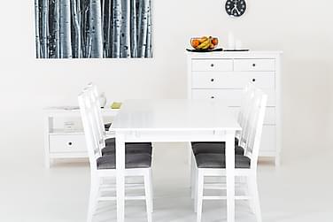 Pöytä Svensbo 180 cm 8 tuolilla