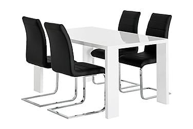 Ruokailuryhmä Fiorenza 140 cm 4 Abuzzo tuolilla