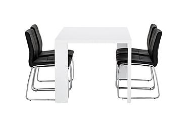 Ruokailuryhmä Fiorenza 140 cm 4 Mucura tuolilla