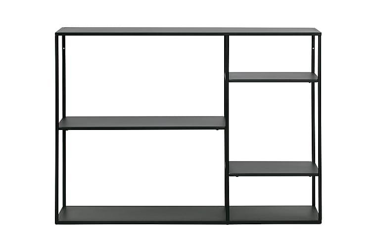 Apupöytä Yesim 120 cm - Musta Metalli - Huonekalut - Säilytys - Hyllyt