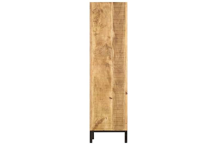 Kirjahylly 40x30x175 cm kiinteä mangopuu - Ruskea - Huonekalut - Säilytys - Hyllyt