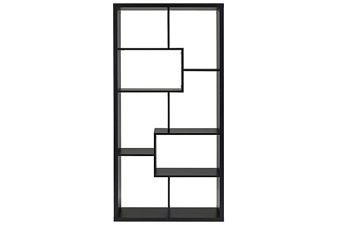 Kirjahylly Kiera 89 cm - Musta - Huonekalut - Säilytys - Hyllyt