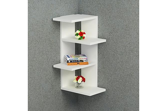Seinähylly Ealing 31 cm - Valkoinen - Huonekalut - Säilytys - Hyllyt