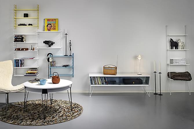 Seinähylly Oddveig 58 cm - Valkoinen - Huonekalut - Säilytys - Hyllyt