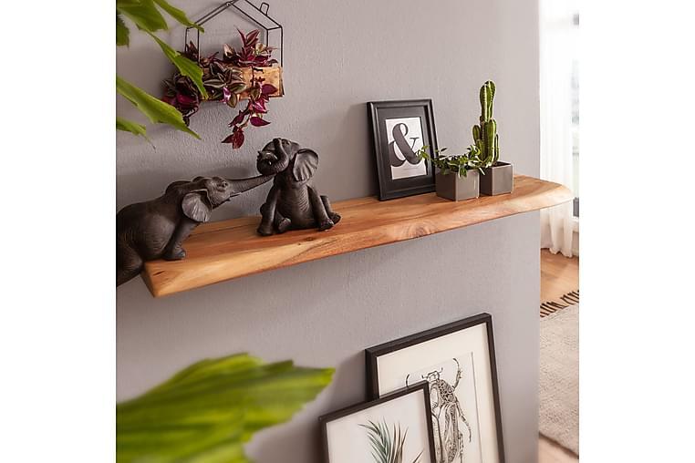 Seinähylly Stratta 115x25 cm - Puu/Luonnonväri - Huonekalut - Säilytys - Hyllyt