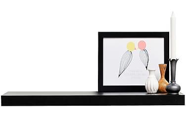 Shimmer XL Musta - Seinähylly