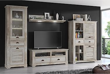 TV-Kalustepaketti Dorcan 376 cm
