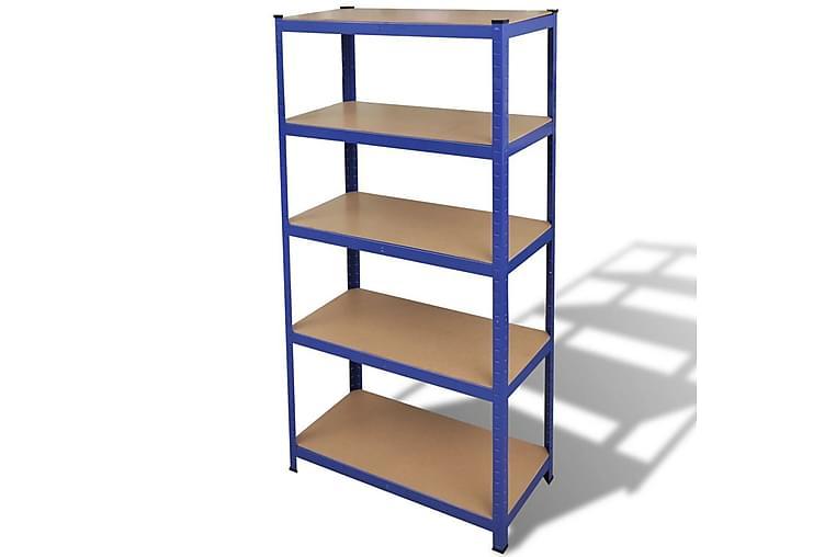 Varastohylly Sininen - Sininen - Huonekalut - Säilytys - Hyllyt
