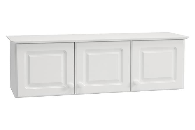 Yläkaappi Egista 129 cm - Valkoinen - Huonekalut - Säilytys - Hyllyt