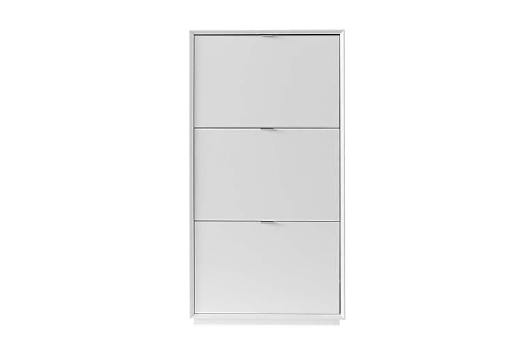Kenkäkaappi Vikna 64 cm - Valkoinen - Huonekalut - Säilytys - Kenkäsäilytys