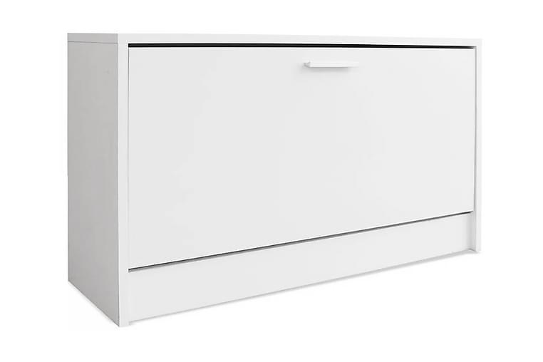 Kenkien Varastokaappi Valkoinen 80x24x45 cm - Valkoinen - Huonekalut - Säilytys - Kenkäsäilytys