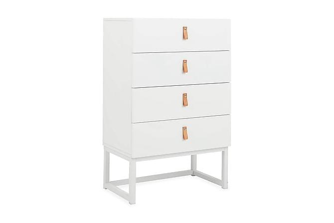 Lipasto Burton 60 cm 4 laatikkoa - Valkoinen - Huonekalut - Säilytys - Lipastot
