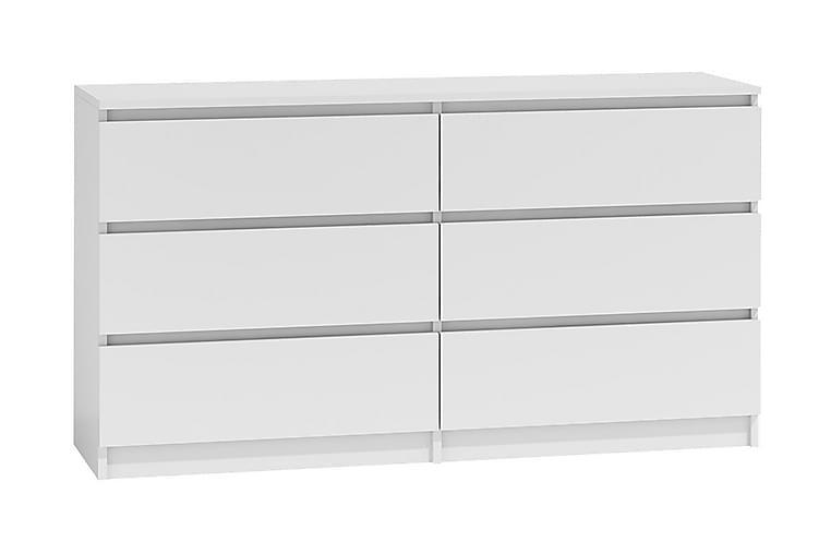 Lipasto Charlise 138x40x75 cm - Valkoinen - Huonekalut - Säilytys - Lipastot