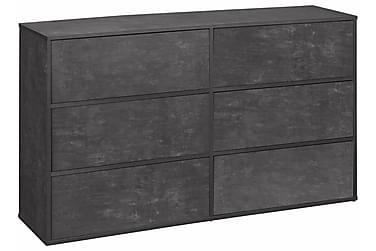Lipasto Lancaster 140 cm 6 laatikkoa