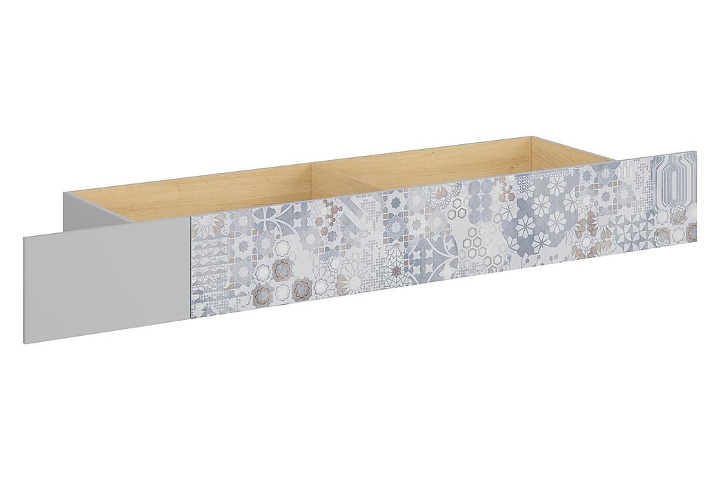 Lipasto Hagelsrum 200 cm - V.harmaa/Puu/Luonnonväri/Valk - Huonekalut - Säilytys - Lipastot
