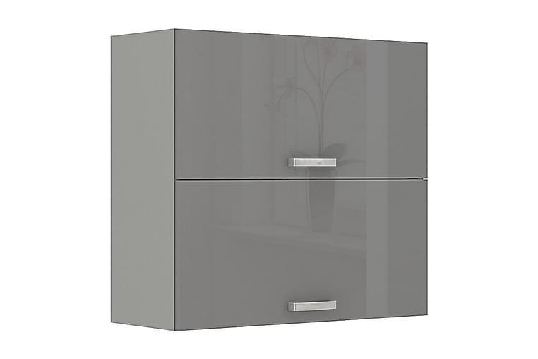 Grey Seinäkaappi 80x31x71,5 cm - Huonekalut - Säilytys - Säilytyskaapit