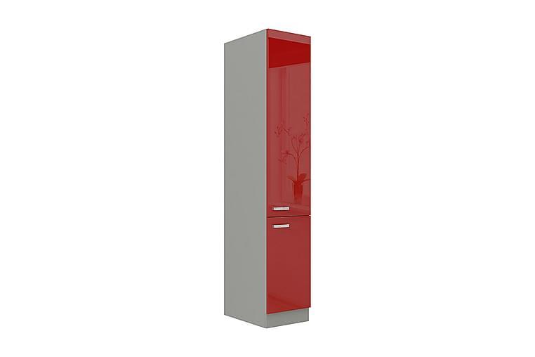 Rose Kaappi ovilla 40x57x210 cm - Huonekalut - Säilytys - Säilytyskaapit