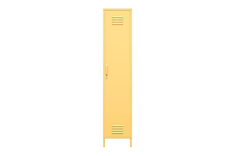 Säilytyskaappi Cache 38x40 cm 1 Ovi Keltainen - Novogratz - Huonekalut - Säilytys - Säilytyskaapit