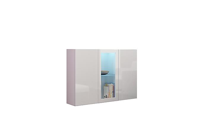 Seinäkaappi Vigo 120x38x90 cm - Valkoinen - Huonekalut - Säilytys - Säilytyskaapit