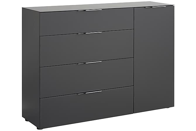 Senkki Monreal 135,3x98,7 cm - Tummanharmaa/Tummanharm Matta - Huonekalut - Säilytys - Säilytyskaapit