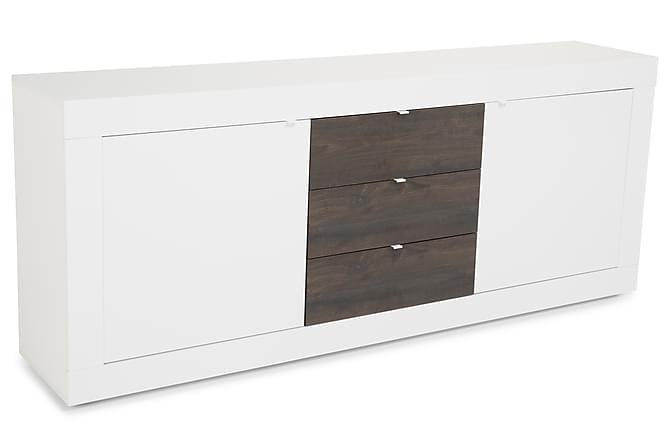 Senkki Astal 210 cm - Valkoinen/Wenge - Huonekalut - Säilytys - Senkit
