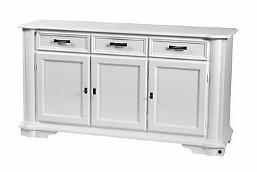 Senkki Denver 3-ovinen 160 cm Valkoinen