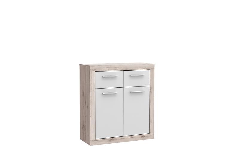 Senkki Humberson 34x83 cm - Ruskea/Valkoinen - Huonekalut - Säilytys - Senkit